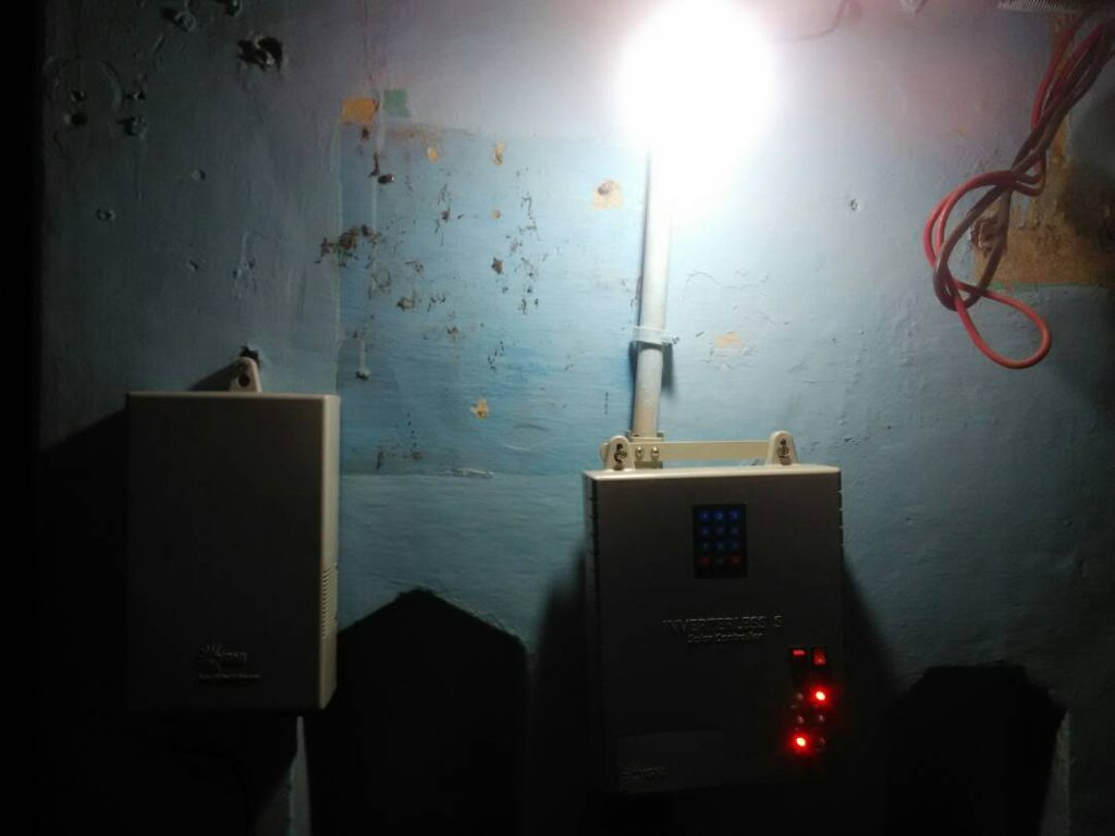 Solar DC-Power-System