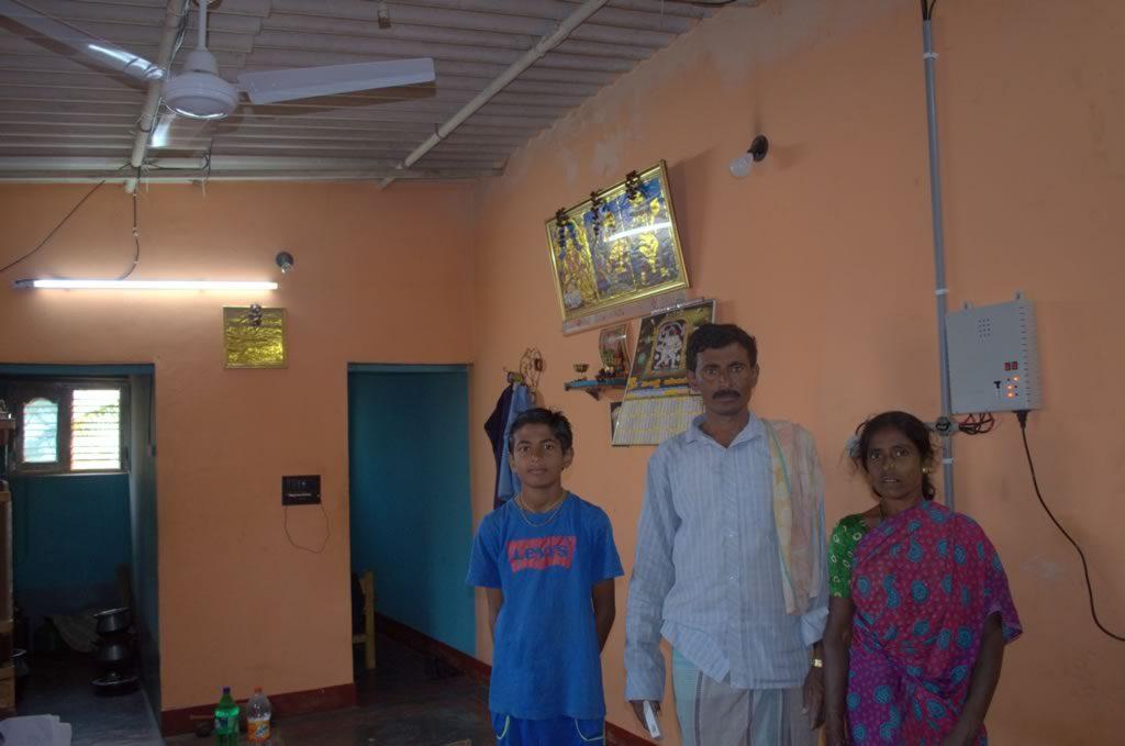 villager benefited Solar DC Inverterless