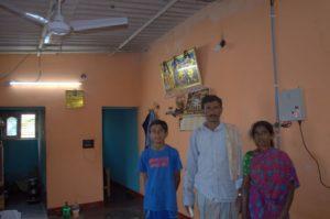 villager benefited through solar