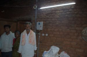 villager benefited through solar dc inveterless